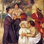 A família do artista, de Renoir (1896)