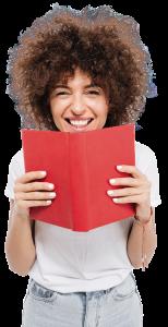 mulher livro